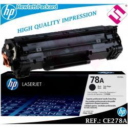 TONER NEGRO CE278A - 278A - 78A ORIGINAL PARA IMPRESORAS HP HEWLETT PACKARD