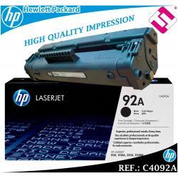 TONER NEGRO C4092A 4092A 92A ORIGINAL PARA IMPRESORAS HP HEWLETT PACKARD GENUINE