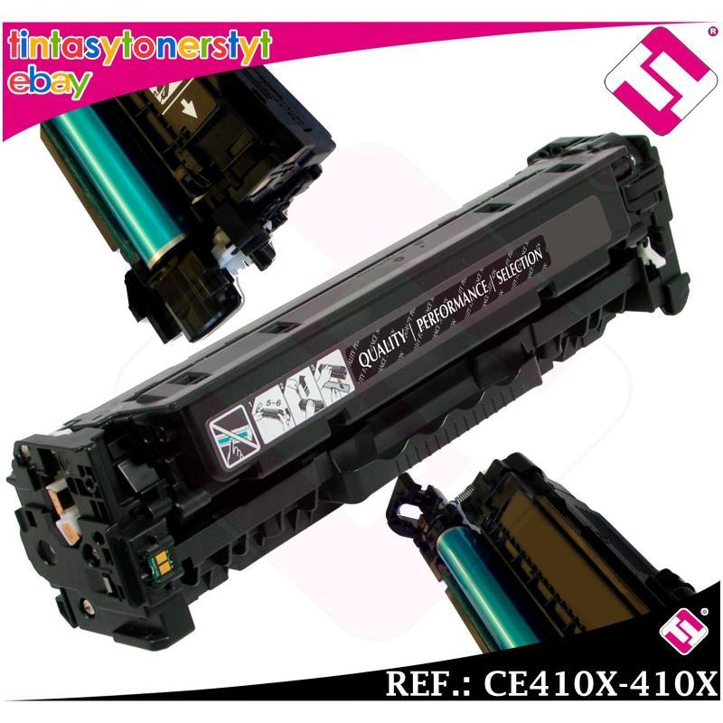 TONER NEGRO CE410X 410X 305X COMPATIBLE PARA IMPRESORAS NONOEM HP NO ORIGINAL
