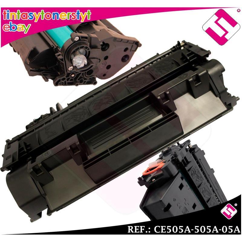 TONER NEGRO CE505A 505A 05A COMPATIBLE PARA IMPRESORAS NONOEM HP NO ORIGINAL