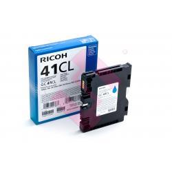 RICOH CARTUCHO INYECCION TINTA CIAN GC-41CL 600 PGINAS SG/2