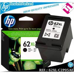 TINTA NEGRA 62XL ORIGINAL IMPRESORAS HP CARTUCHO NEGRO HEWLETT PACKARD C2P05AE