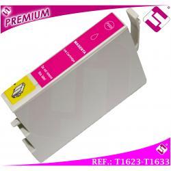 TINTA MAGENTA T1623 T1633 T16XL COMPATIBLE PARA IMPRESORAS NONOEM EPSON CARTUCHO ROSA