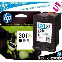 TINTA NEGRA 301XL ORIGINAL IMPRESORAS HP CARTUCHO NEGRO HEWLETT PACKARD CH563EE