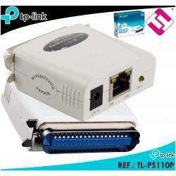 TPLINK TL PS110P SERVIDOR DE IMPRESION PUERTO PARALELO FAST ETHERNET PRINTSERVER