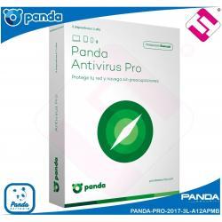 ANTIVIRUS PANDA 2018 PRO 3 LICENCIA WINDOWS XP 7 8 8.1 10 CODIGO ENVIADO X EMAIL