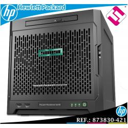 SERVIDOR HP ENTERPRISE MICROSERVER G10 AMD 3216 DUAL CORE 3,4GHZ 8GB MODELO...