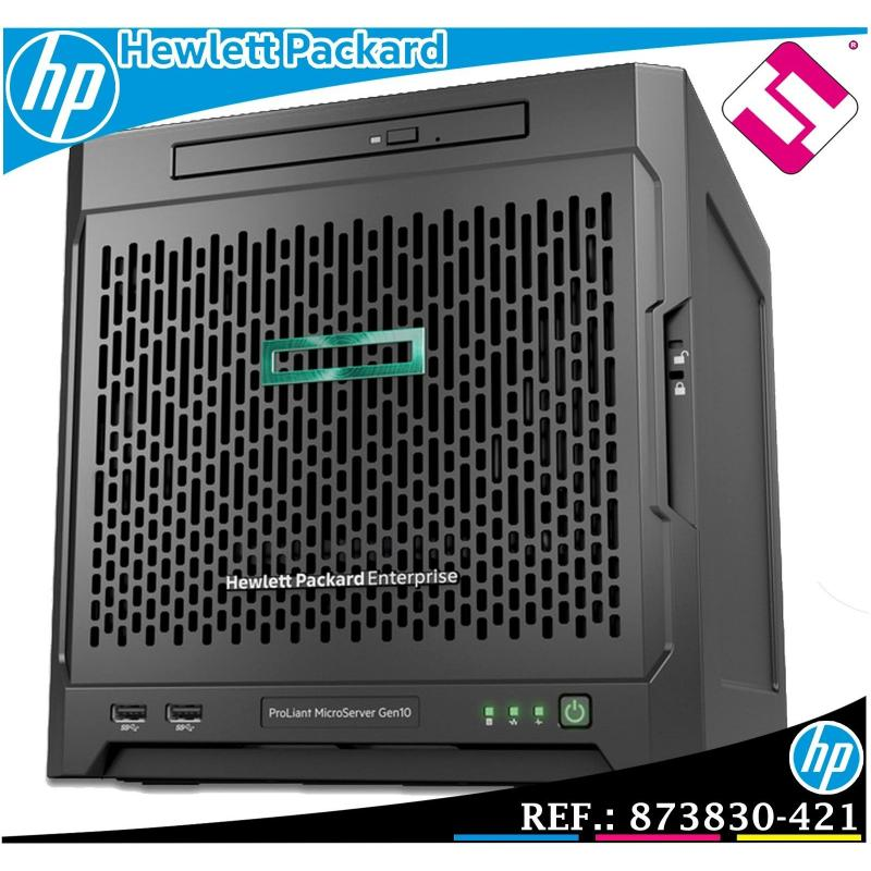SERVIDOR HP ENTERPRISE MICROSERVER G10 AMD 3216 DUAL CORE 3,4GHZ 8GB MODELO 873830-421
