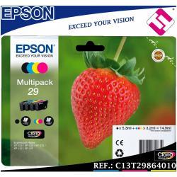 PACK TINTA T2986 ORIGINAL IMPRESORAS EPSON CARTUCHO C13T29864010 EXPRESSION HOME