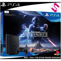 VIDEOCONSOLA PS4 PLAYSTATION 4 1TB STAR WARS BATTLEFRONT 2 FACTURA 2 AÑOS GARANT