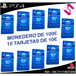 100€ FONDO MONEDERO STORE PARA PLAYSTATION PS4 PS3 PSVITA LIQUIDACION OFERTA TOP