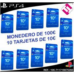 100€ FONDO MONEDERO STORE PARA PLAYSTATION PS4 PS3 PSVITA LIQUIDACION OFERTA TOP
