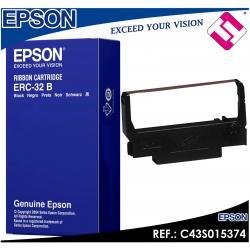 CINTA MATRICIAL EPSON ERC-38B RIBBON COLOR NEGRO 3000000 CARACTERES C43S015374