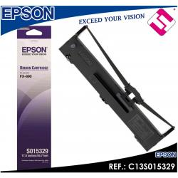 CINTA MATRICIAL EPSON FX 890 RIBBON COLOR NEGRO 7500000 CARACTERES C13S015329