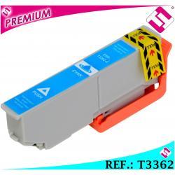 TINTA CIAN T3362 T3342 XL COMPATIBLE CARTUCHO AZUL PARA IMPRESORAS EPSON NON OEM