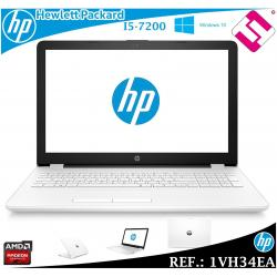 "PORTATIL HP 15-BS036NS I5 7200U 15.6"" W10 8GB DDR4 1TB 2,5GHZ AMD RADEON 520 2GB"