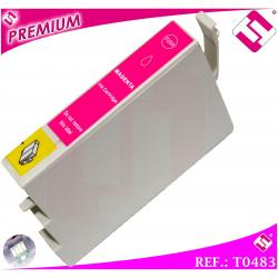 TINTA MAGENTA T0483 COMPATIBLE NONOEM PARA IMPRESORAS EPSON CARTUCHO ROSA XL