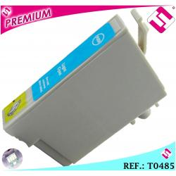 TINTA CIAN CLARA T0485 COMPATIBLE NONOEM IMPRESORAS EPSON CARTUCHO AZUL CLARO XL