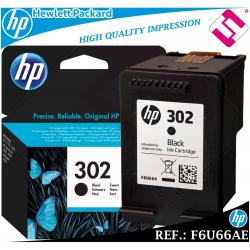 TINTA NEGRA 302 ORIGINAL IMPRESORAS HP CARTUCHO NEGRO HEWLETT PACKARD F6U66AE