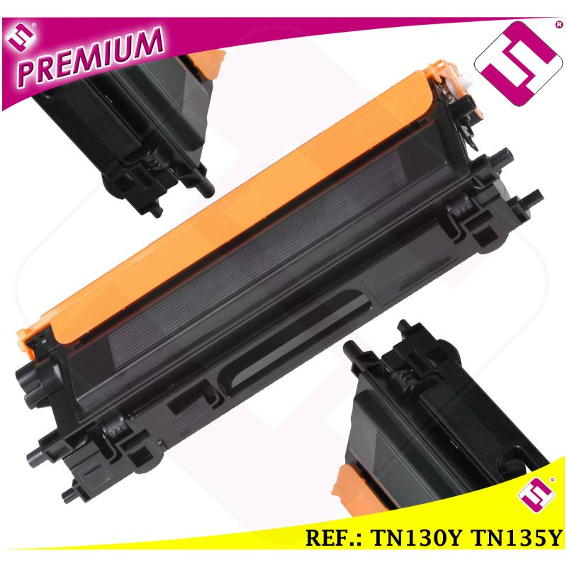 TONER AMARILLO TN130Y TN135Y TN115Y TN175Y TN195Y COMPATIBLE IMPRESORAS NONOEM BROTHER ALTERNATIVO NO ORIGINAL