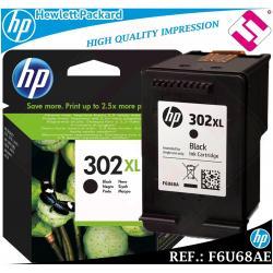 TINTA NEGRA 302XL ORIGINAL IMPRESORAS HP CARTUCHO NEGRO HEWLETT PACKARD F6U68AE