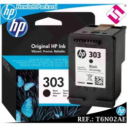 TINTA NEGRA 303 ORIGINAL PARA IMPRESORAS HP ENVY PHOTO CARTUCHO NEGRO T6N02AE