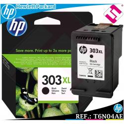 TINTA NEGRA 303XL ORIGINAL IMPRESORAS HP ENVY PHOTO CARTUCHO NEGRO T6N04AE