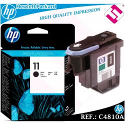 CABEZAL NEGRO 11 ORIGINAL PARA IMPRESORAS HP PRINTHEAD HEWLETT PACKARD C4810A