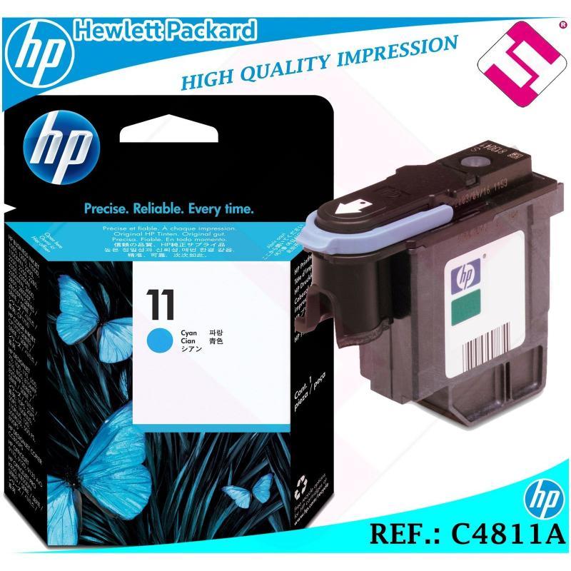 CABEZAL CIAN 11 ORIGINAL PARA IMPRESORAS HP PRINTHEAD HEWLETT PACKARD C4811A