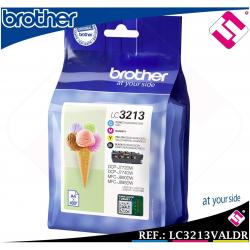 PACK TINTA LC3213 XL SET ORIGINAL CARTUCHO IMPRESORA BROTHER ALTA CAPACIDAD