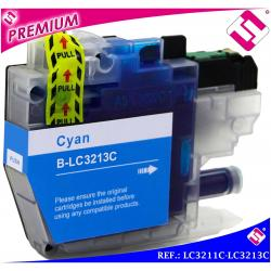 TINTA LC3211C LC3213C XL CIAN CARTUCHO AZUL NONOEM BROTHER COMPATIBLE CYAN