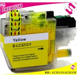 TINTA LC3211Y LC3213Y XL AMARILLA CARTUCHO AMARILLO NONOEM BROTHER COMPATIBLE