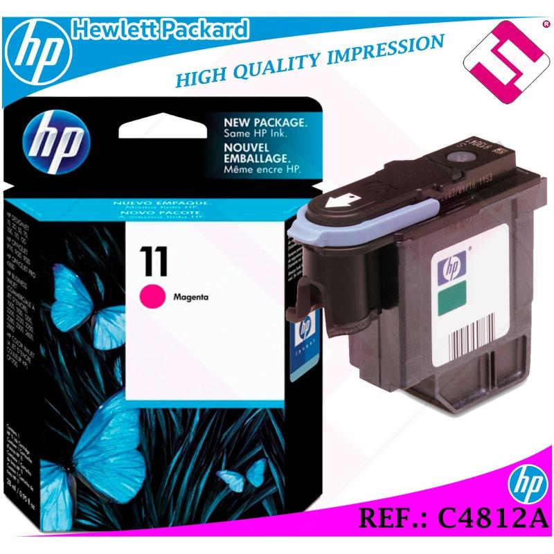 CABEZAL MAGENTA 11 ORIGINAL PARA IMPRESORAS HP PRINTHEAD HEWLETT PACKARD C4812A