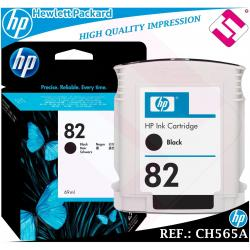 TINTA NEGRA 82 ORIGINAL IMPRESORAS HP CARTUCHO NEGRO HEWLETT PACKARD CH565A