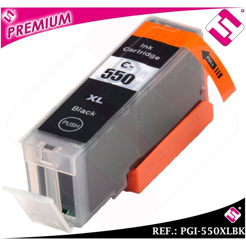TINTA PGI550BK PGI 550 XL NEGRA CARTUCHO NEGRO NONOEM COMPATIBLE NO ORIGINAL