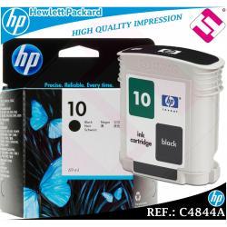 TINTA NEGRA 10 ORIGINAL IMPRESORAS HP CARTUCHO NEGRO HEWLETT PACKARD C4844A