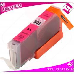 TINTA CLI551M CLI 551 XL MAGENTA CARTUCHO ROSA NONOEM COMPATIBLE NO ORIGINAL