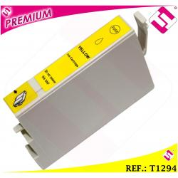 TINTA T1294 1294XL COMPATIBLE IMPRESORA CARTUCHO AMARILLO NONOEM NO ORIGINAL XL