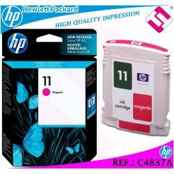TINTA MAGENTA 11 ORIGINAL IMPRESORAS HP CARTUCHO NEGRO HEWLETT PACKARD C4837A