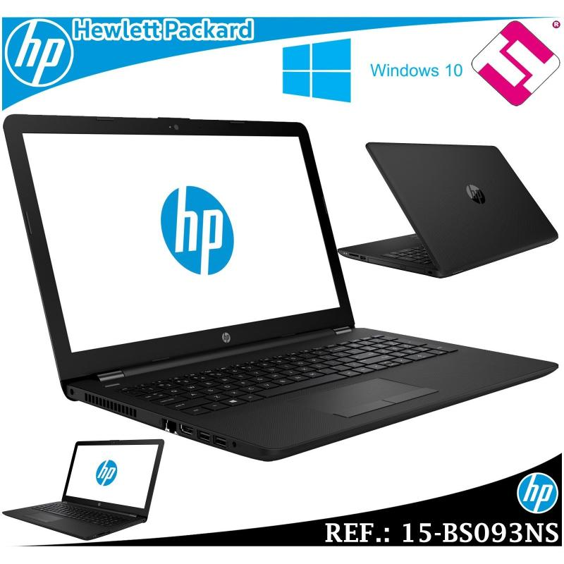 PORTATIL HP 15-BS093NS DUAL CORE CELERON N3060 1,6GHZ 15.6 8GB 500GWIFI BT W10