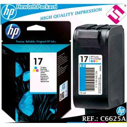 TINTA TRICOLOR 15 ORIGINAL IMPRESORAS HP CARTUCHO COLOR HEWLETT PACKARD C6625A