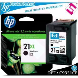 TINTA NEGRA 21XL ORIGINAL IMPRESORAS HP CARTUCHO NEGRO HEWLETT PACKARD C9351CE