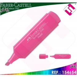 10 MARCADORES COLOR ROSA PASTEL FABER CASTELL TRAZO 1-2-5 MM BISELADA 3 GROSORES