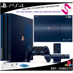 VIDEOCONSOLA SONY PS4 PRO 2TB PLAYSTATION 500 MILLONES 50000 OFERTA FACTURA SI