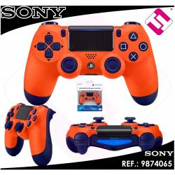 MANDO PS4 DUALSHOCK NARANJA ORIGINAL PLAYSTATION 4 SONY INALAMBRICO WIFI NOCABLE