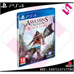 ASSASSIN´S CREED 4 BLACK FLAG JUEGO PS4 FÍSICO NUEVO PRECINTADO PLAYSTATION 4