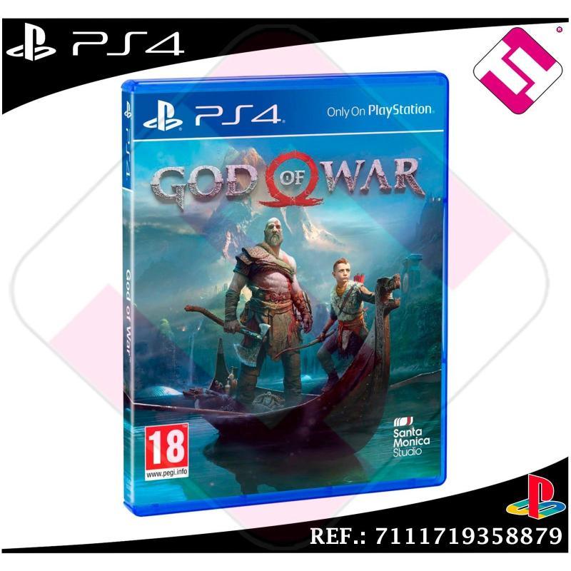 GOD OF WAR JUEGO PS4 FÍSICO NUEVO PRECINTADO PLAYSTATION 4 EL DIOS DE LA GUERRA