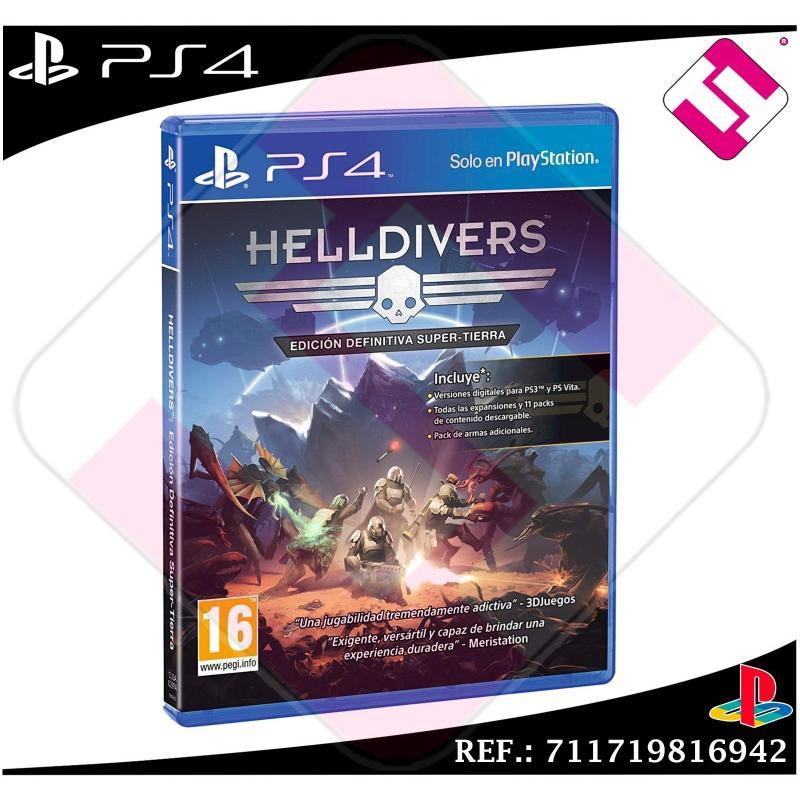 HELLDIVERS EDICION SUPER TIERRA JUEGO PS4 FÍSICO NUEVO PRECINTADO PLAYSTATION 4