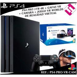 PS4 PLAYSTATION 4 PRO 1TB 1 MANDO GAFAS VIRTUALES JUEGO VR CAMARA SONY NAVIDAD