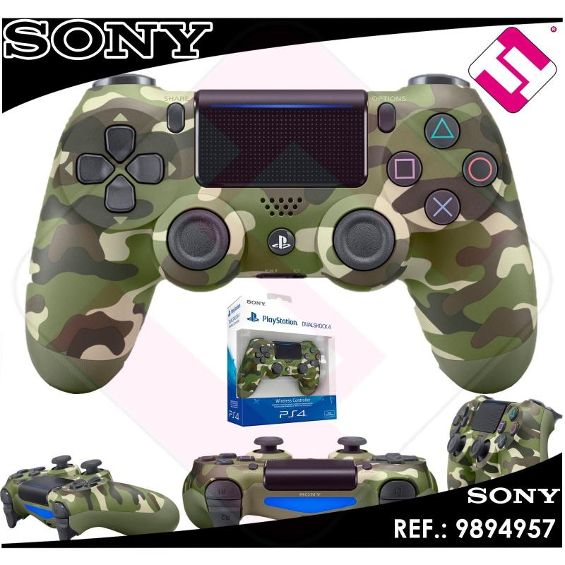 MANDO PS4 DUALSHOCK CAMUFLAJE VERDE ORIGINAL PLAYSTATION 4 SONY GREEN CAMOUFLAGE